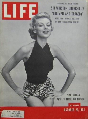 Vikki Dougan Actress Life Magazine Oct 26 1953