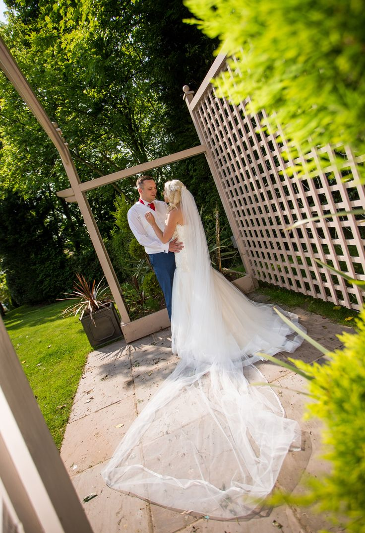 Wedding Photography In The Grounds Of Our Self Contained Rhydding Suite Venue