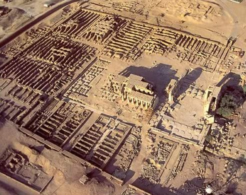 Temples of Egypt   The Ramessuem on the West Bank at Luxor (Ancient Thebes)