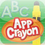 AppCrayon - forma bokstäver | Pappas Appar