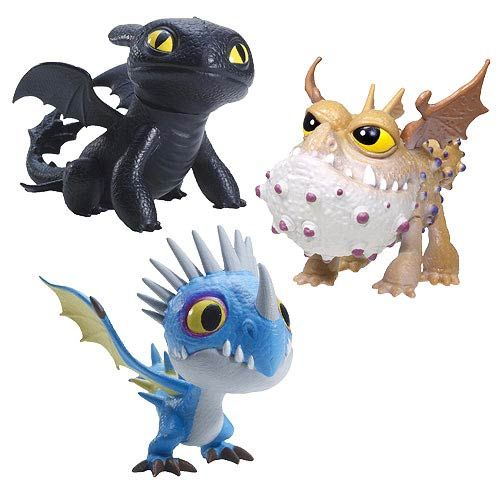 dreamworks dragons mini dragon mini figure case want all of these beauties