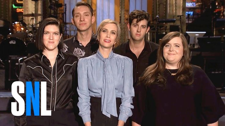 SNL Host Kristen Wiig, Aidy Bryant & The xx Get Funky
