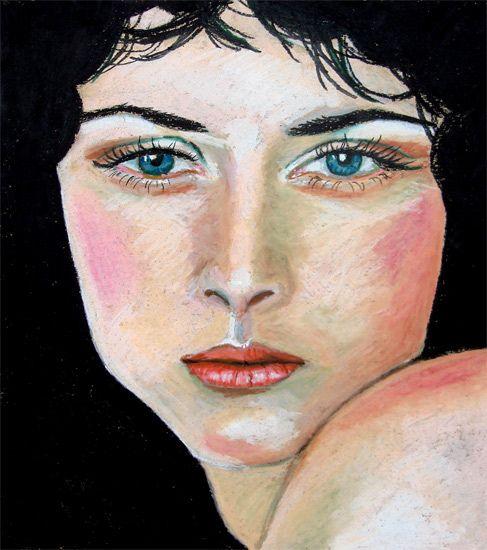 Pastel Portrait: Snow Queen   quaymberley