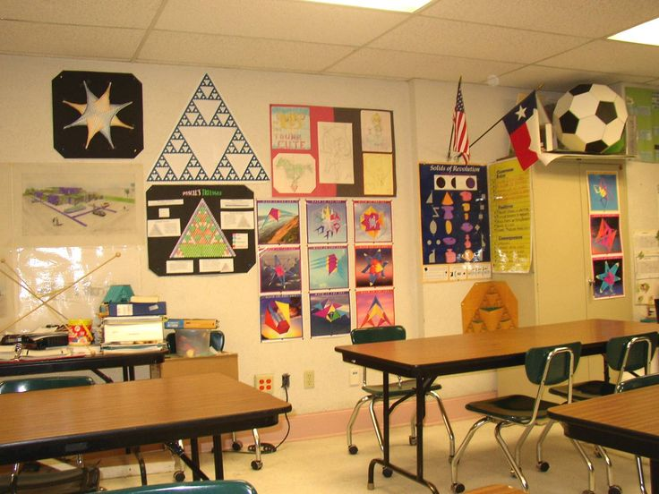 Inspiring math classroom decorations love the ball a soccer ball during geometry unit