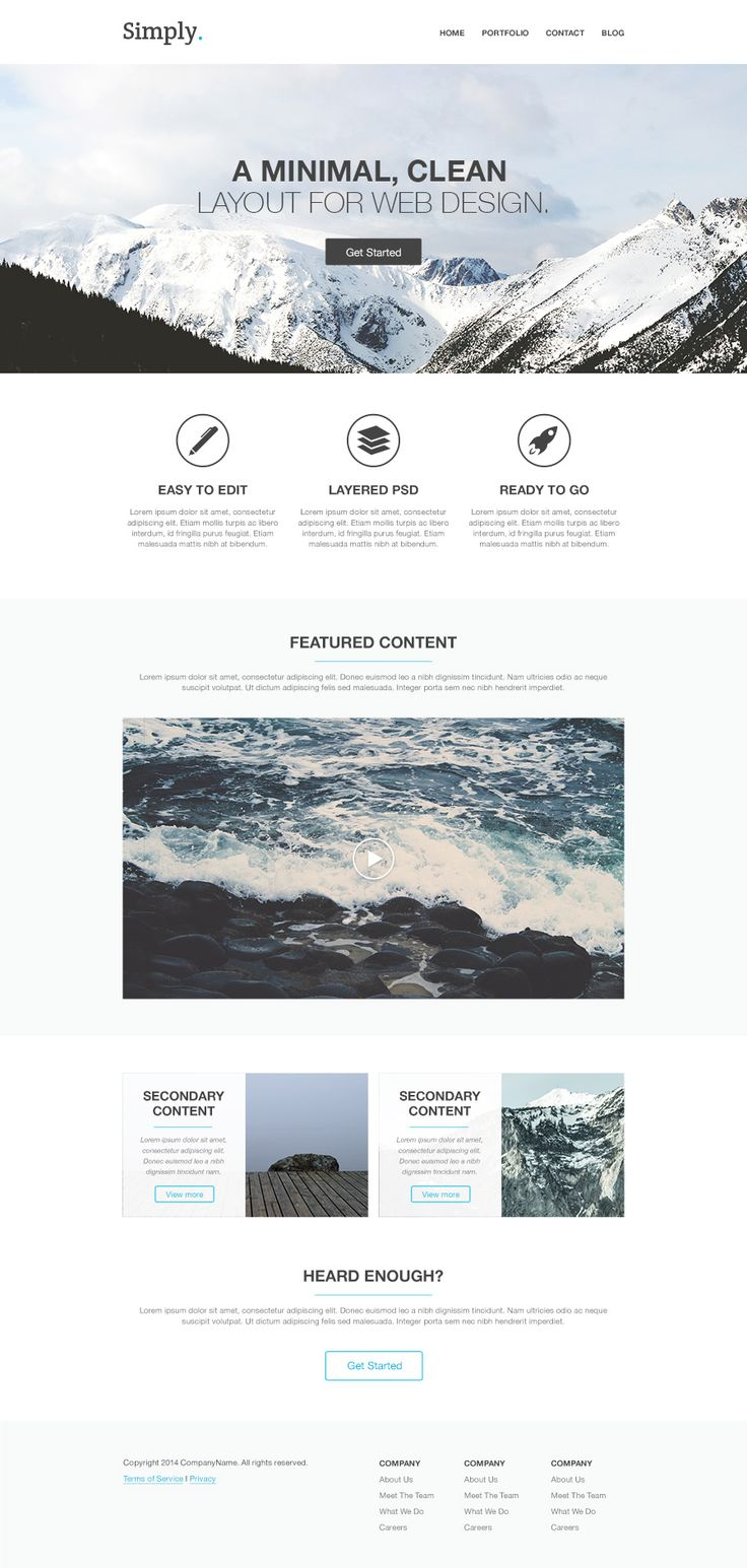 How to Code a Homepage Template with HTML5 and CSS3 : Medialoot