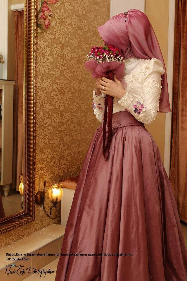 . ❤ hijab style #wedding #bride