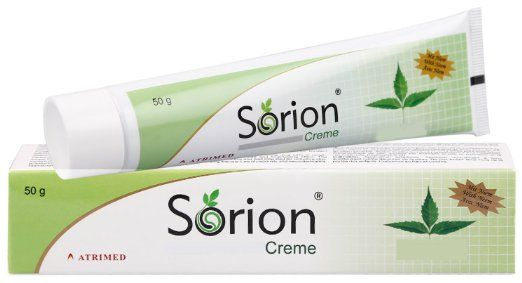 Sorion Creme - Psoriasis and Eczema Skin Care with coconut oil and Neem (50 g)