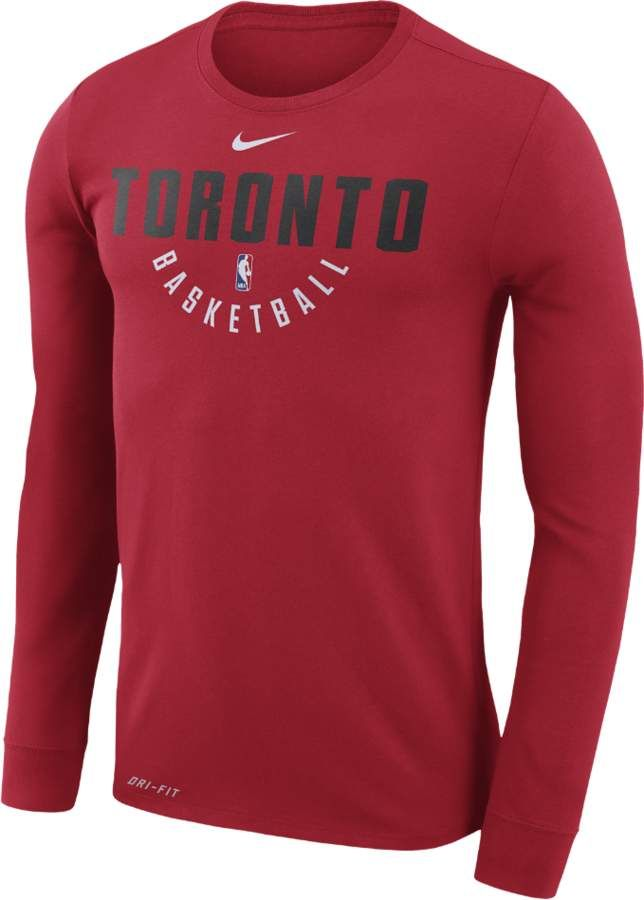 df3e682f Toronto Raptors Nike Dry Men's Long Sleeve NBA T-Shirt #ad #tshirt ...