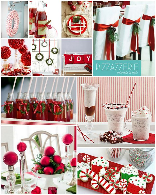 Giveaways For Christmas Party: 178 Best Images About Christmas Table Settings Ideas On