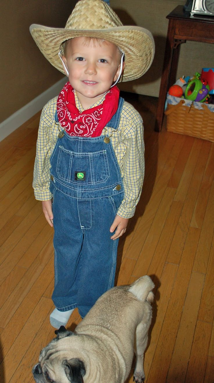 How to Dress Like a Farmer for Halloween