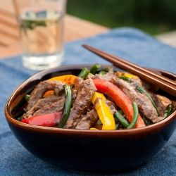 Garlic Scapes and Beef Stir-fry | Asian Recipes | Pinterest