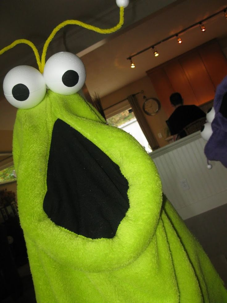 Because they scared me as a child, Avery is going to be Yip Yips{from old school Sesame Street}. Lord help us ;)