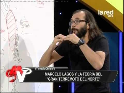 Marcelo Lagos y la teoría del gran terremoto del norte - Chile