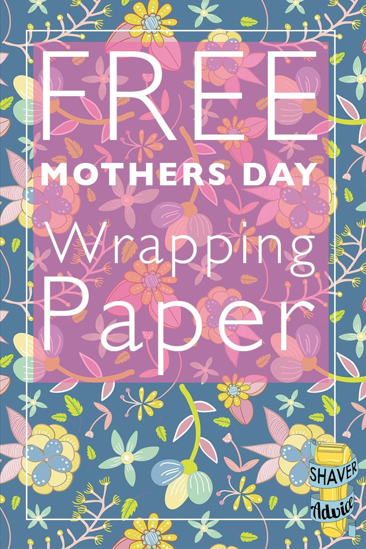 Printable Wrapping Paper | Mother's Day Wrapping Paper | Free Gift Wrap | Click through to get your free paper!
