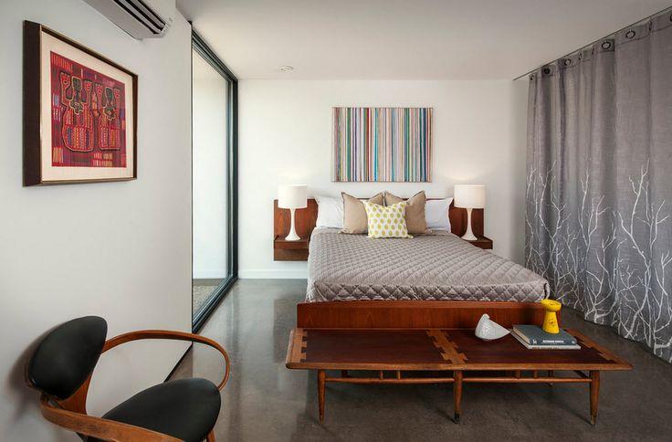 Изысканная спальня в стиле модерн