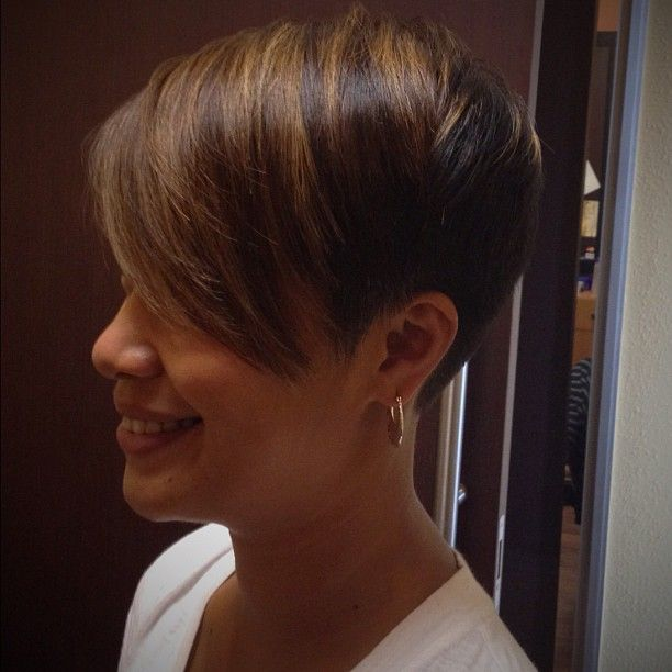 This is a very cute cut...not dramatic, very flattering and tailored...don't doubt the cut....do it!!