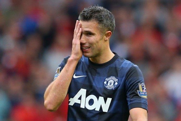 Van Persie 'unimpressed by Moyes'