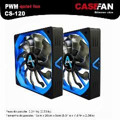 [ 30% OFF ] ALSEYE 2pieces 120mm fan PWM computer fan for cpu cooler 12v 4pin 500-2000RPM silicone quiet fan for computer case