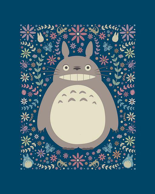 Totoro Garden | Flickr - Photo Sharing!