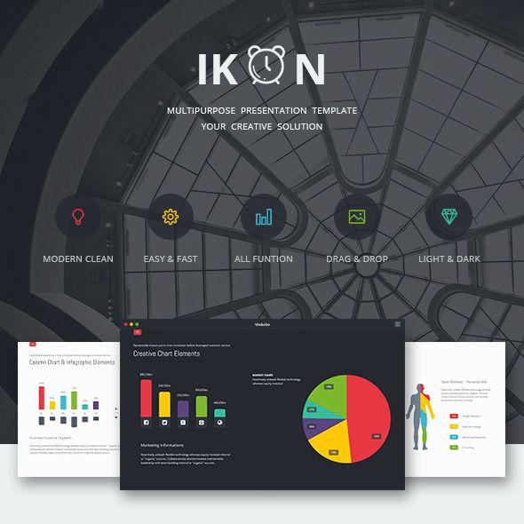 IKON - Multipurpose Presentation Template