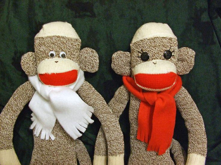 Holiday Sock Monkeys
