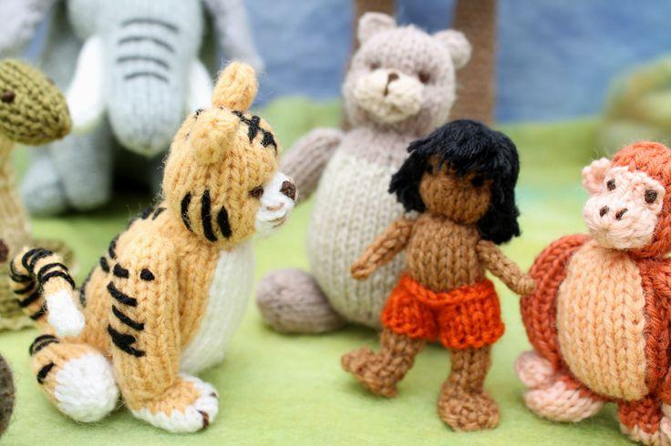 Knitted Junglebook