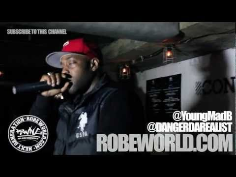 Young Mad B & Danger Da Realist perform 'Over Here' at NewLDN: Presents iRecords (The Supreme Team) @ Concrete, Shoreditch.