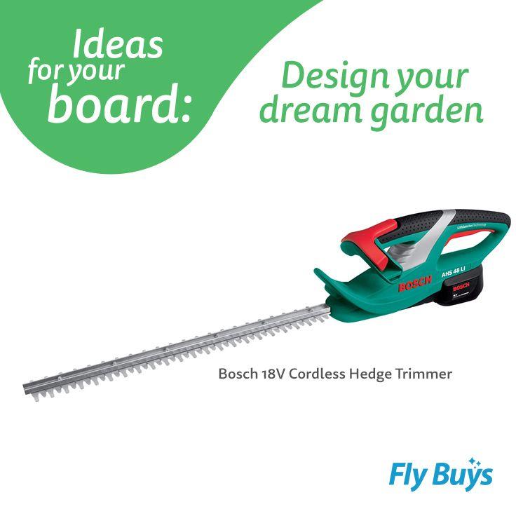 Bosch 18V Cordless Hedge Trimmer  #1310pts #flybuysnz
