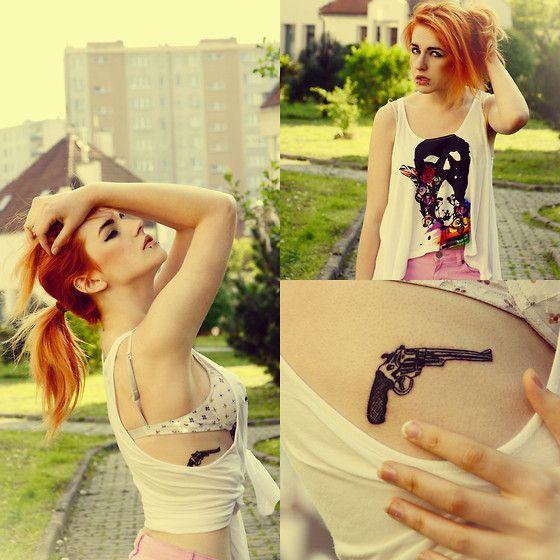 H for Haiti (by Karusza Krupińska)  h&m fashion style grunge girl polishgirl cracow karusza