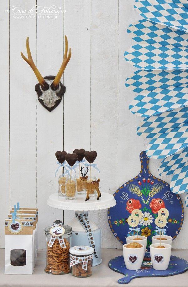 Oktoberfest Party I sweet table I party table I party decoration I Wiesn I Bavaria I Bayern I Munich I München I Casa di Falcone