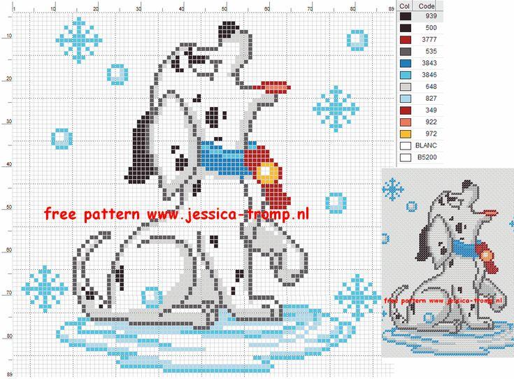 borduren honden kruissteekpatronen cross-stitching dogs