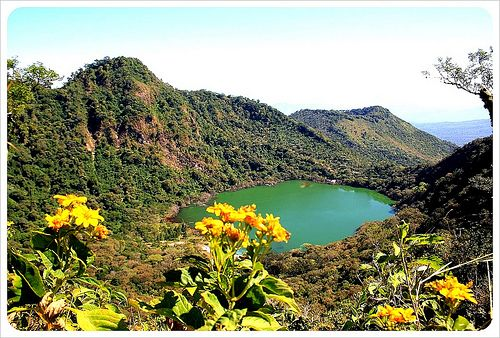 Laguna Alegria in El Salvador. Hope to see this place soon.