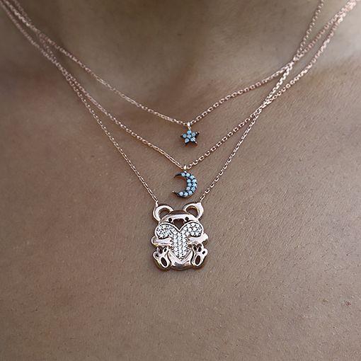 Rose Yıldız Ay ve Ayıcık Kolye Kombin  Besen Gümüş www.besengumus.com  #besen #gümüş #takı #aksesuar #rose #yıldız #ay #ayıcık #kolye #kombin #izmit #kocaeli #istanbul #besengumus #tasarım #moda #bayan  Fiyat Bilgisi ve Satın Almak İçin https://besengumus.com/kolye/rose-yildiz-ay-ve-ayicik-kolye-kombin.html  Sorularınız İçin Whatsapp 0 544 6418977 Mağaza 0 262 3310170