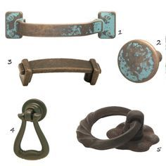 Rustic Kitchen Cabinet Hardware