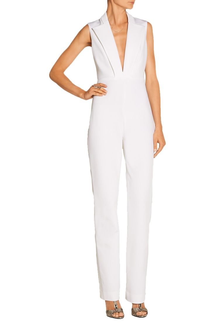 Shop on-sale Cushnie et Ochs Stretch-woven jumpsuit. Browse other discount designer Jumpsuits & more on The Most Fashionable Fashion Outlet, THE OUTNET.COM