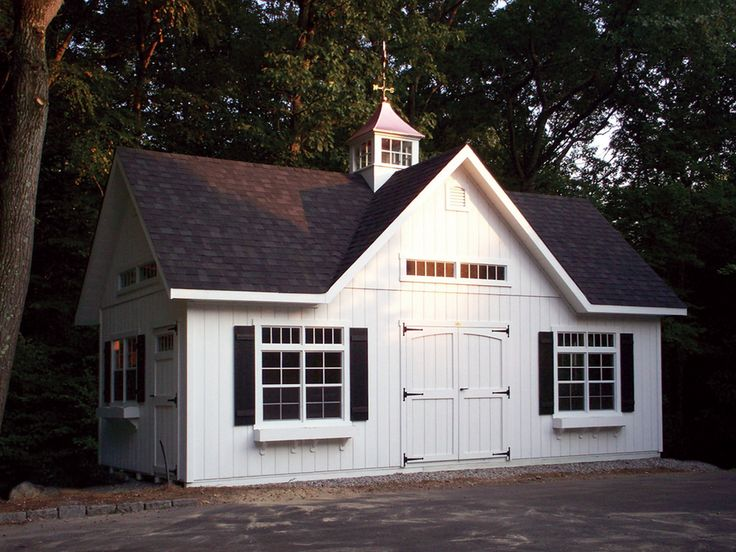 now this is a nice looking shed shedsfarms - Garden Sheds Massachusetts
