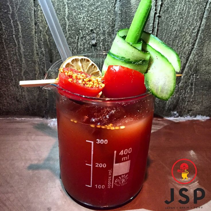 Cinco Bloody Mary***** New Cocktail List Coming Soon... Cinco JSP Let's rock \m/