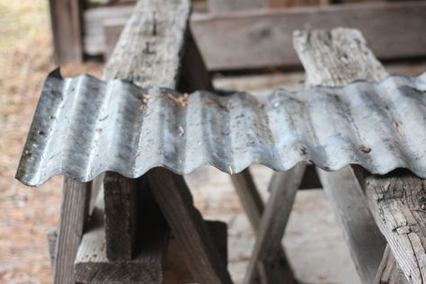 How to Cut Corrugated Metal Roof Panels (with Pictures)   eHow