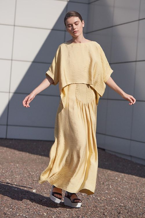 Купить Блуза МИНИМАЛИЗМ из коллекции «…И ВХОДИТ ЖЕНЩИНА» от Lesel (Лесель) российский дизайнер одежды