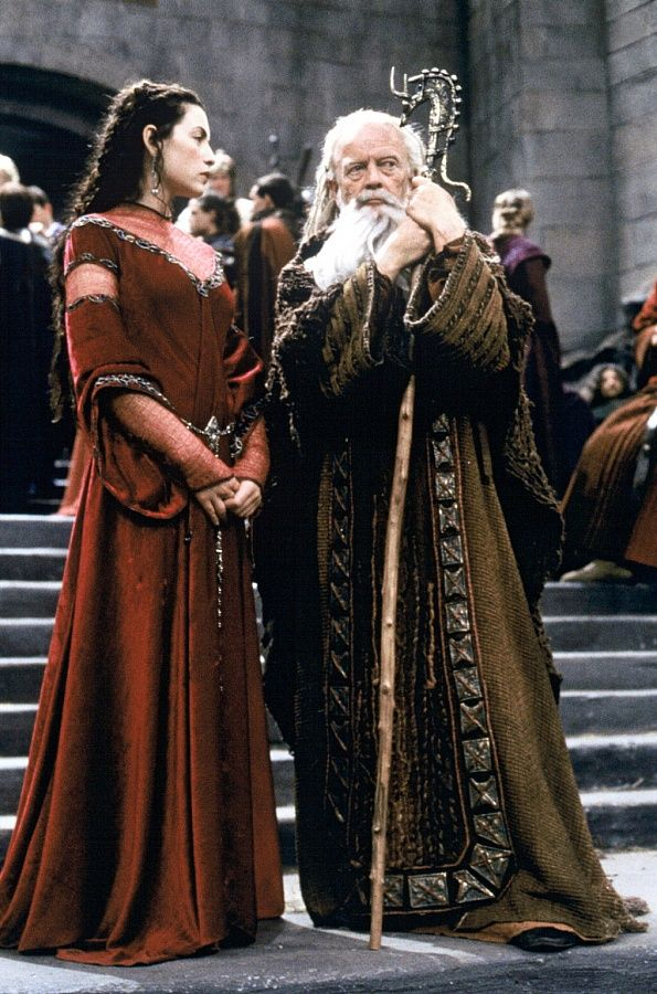 Merlin and Morgaine - the-mists-of-avalon Photo