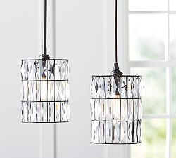Powder room?  Pendant Lighting & Pendant Light Fixtures | Pottery Barn