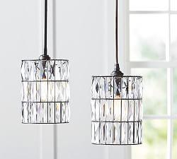 Powder room? Pendant Lighting & Pendant Light Fixtures | Pottery Barn