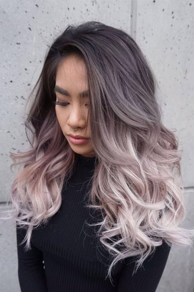 Ombre Hair Color Two Tone Hair Color Haircolor Hairstyle
