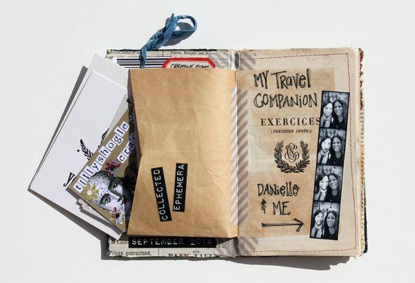 besottment by paper relics: Souvenir Journal: Port Costa Creative Retreat