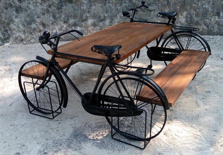 Tisch Set mit 2 Bänken Esstisch Küchentisch Gartentisch Sitzmöbel Esszimmerstuhl