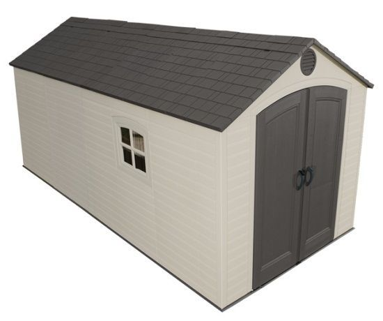 Lifetime Storage Sheds - 60075 Plastic Storage Shed 8 x 15 #LifetimeProducts  10 each