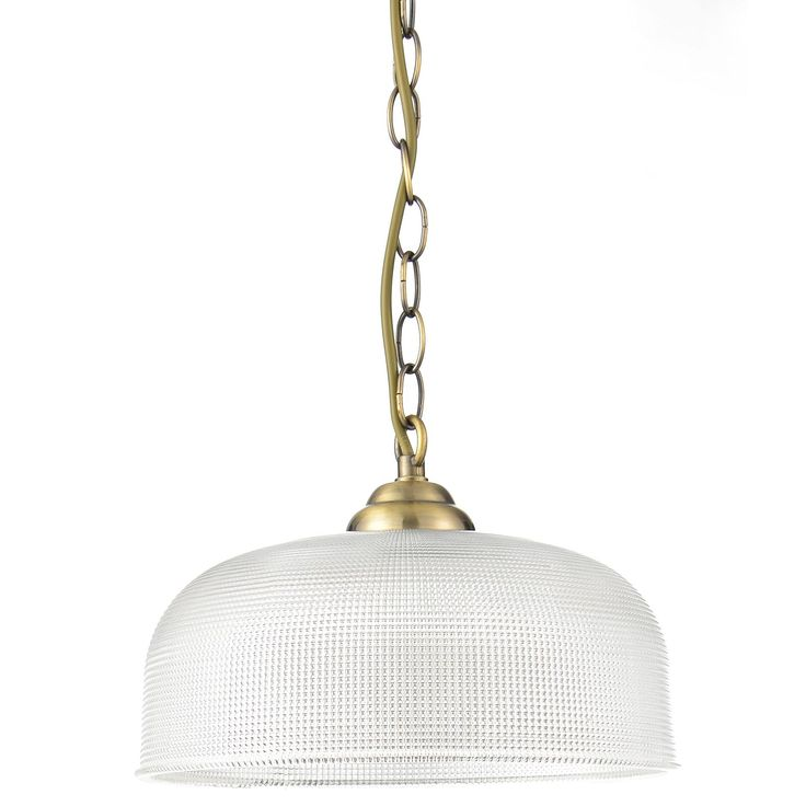 Ola Antique Brass Effect 3 Lamp Pendant Ceiling Light | Departments | DIY at B&Q