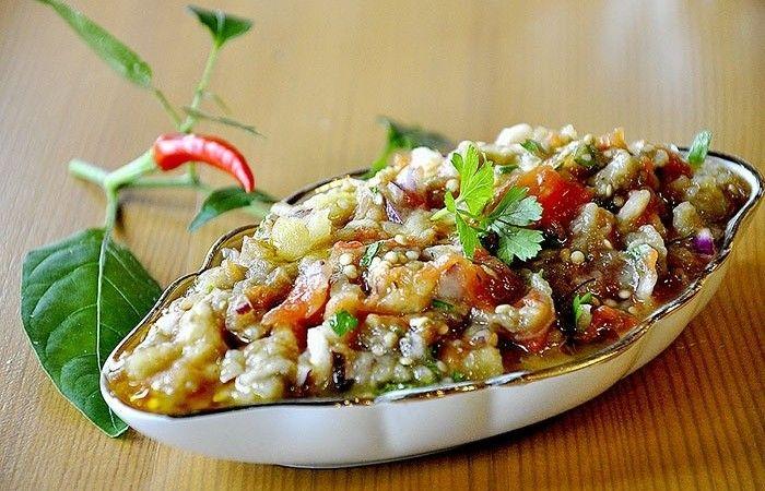 Мелидзана из овощей - пошаговый рецепт с фото