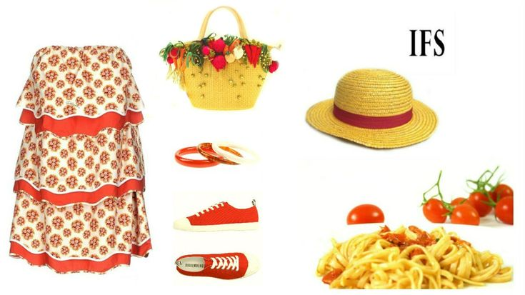 #outfit #red #fashion #food #style