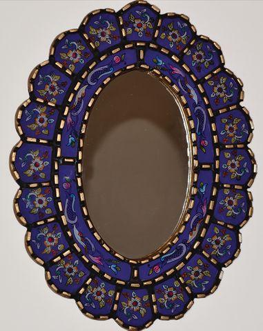 Fleur Violette Mirror – Maison Romance